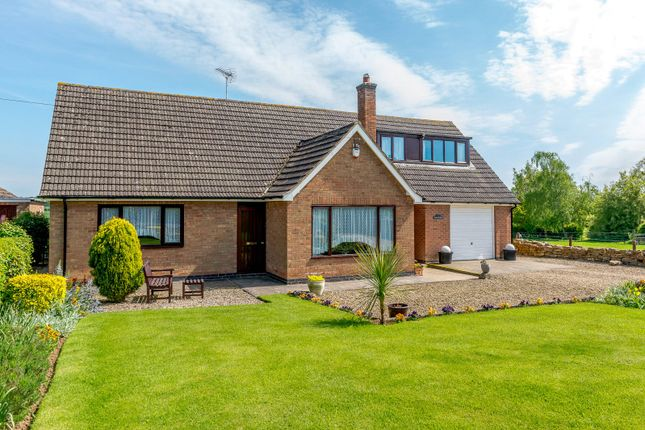 Thumbnail Bungalow for sale in Main Street, Drayton, Market Harborough, Leicestershire