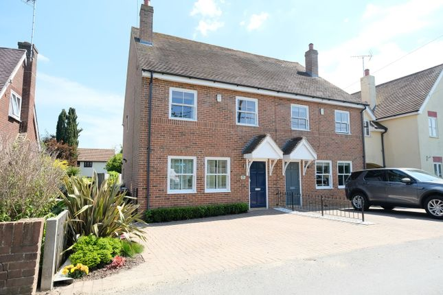 Thumbnail Semi-detached house for sale in Hall Lane, Sandon