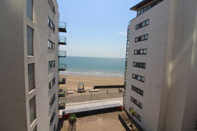 Thumbnail Flat to rent in Meridian Bay, Trawler Road, Swansea