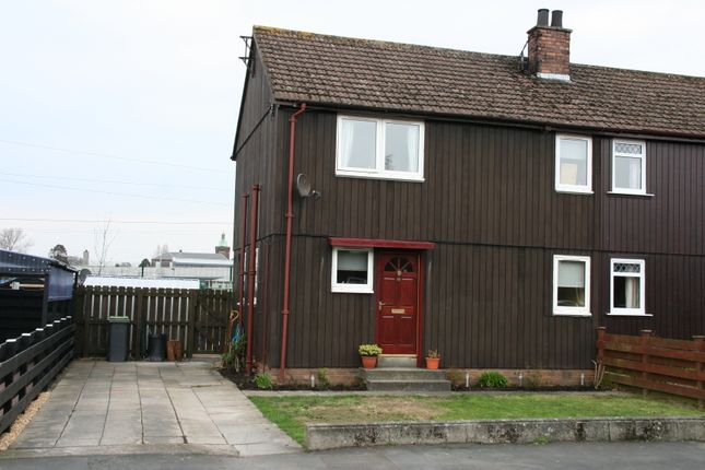 Thumbnail End terrace house for sale in Castledykes Road, Kirkcudbright