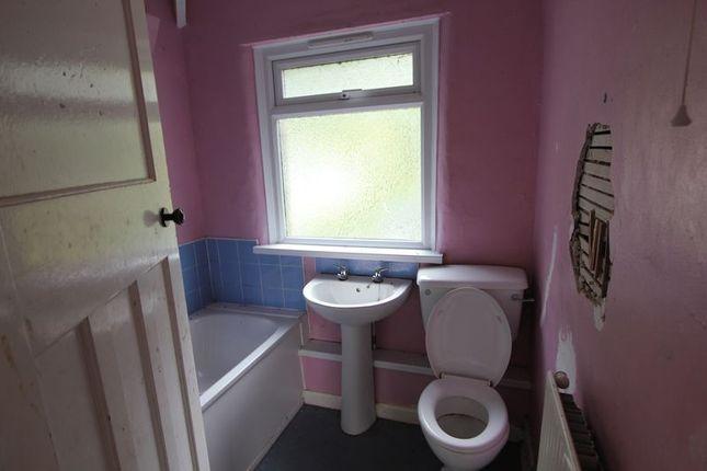 Bathroom of Groes, Denbigh LL16