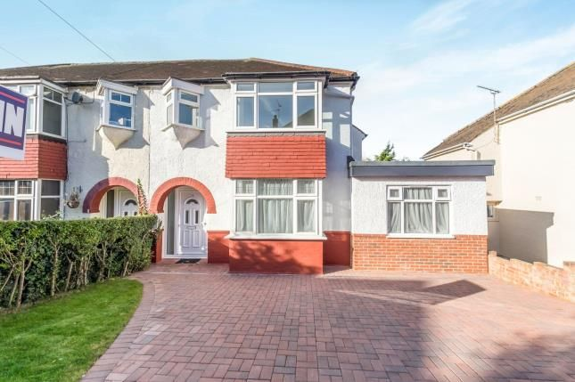 Thumbnail Semi-detached house for sale in Grange Way, Rochester, Kent