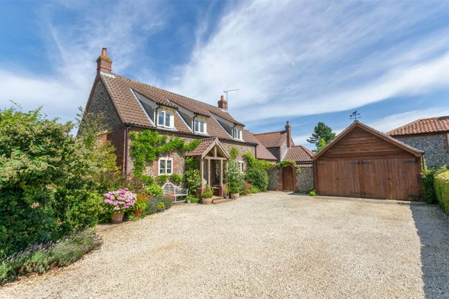 Thumbnail Detached house for sale in Holt Road, Langham, Holt
