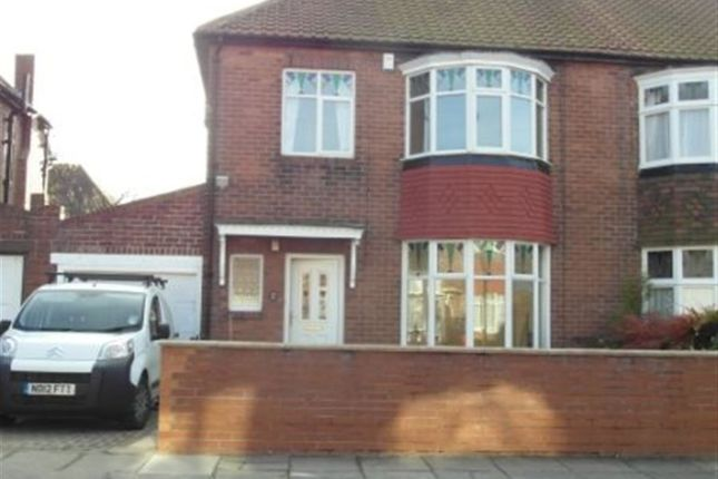 Semi-detached house to rent in Friarside Road, Fenham, Newcastle Upon Tyne