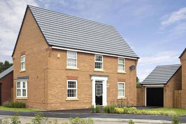 "Thumbnail Detached house for sale in ""Cornell"" at Forest House Lane, Leicester Forest East, Leicester"