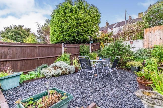 Garden of Borstal Street, Strood, Rochester, Kent ME1