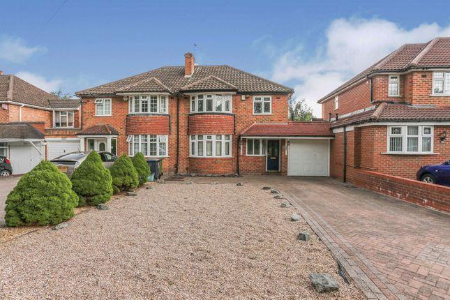 Thumbnail Semi-detached house for sale in Water Orton Road, Castle Bromwich, Birmingham