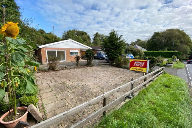 Thumbnail Detached bungalow for sale in Aberaeron Road, Lampeter