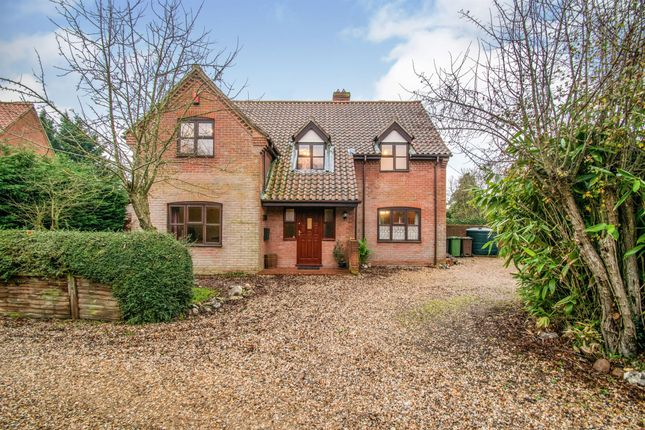 4 bed detached house for sale in Black Horse Meadow, Bawdeswell, Dereham NR20