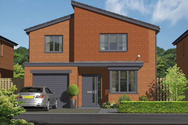 Thumbnail Detached house for sale in Plot 20, The Roxham, Hansons View, Kimberley, Nottingham