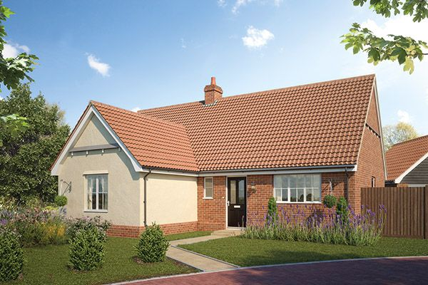 Thumbnail Bungalow for sale in Earl's Meadow, The Street, Easton, Suffolk