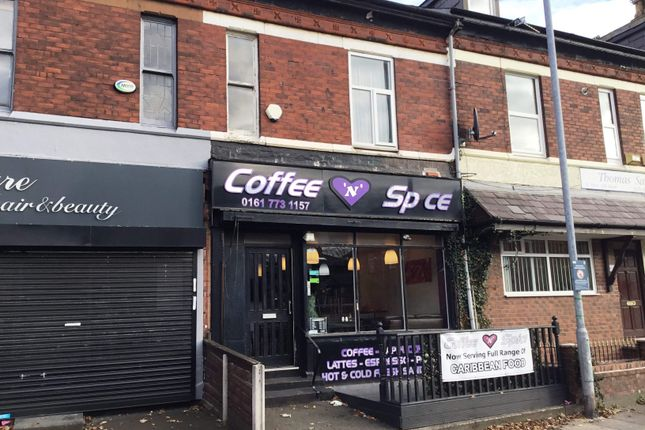 Thumbnail Restaurant/cafe for sale in Bury Old Road, Whitefield, Manchester