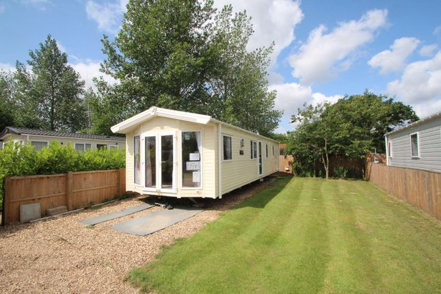 Thumbnail Mobile/park home for sale in Chapel Road, Bucklesham, Ipswich