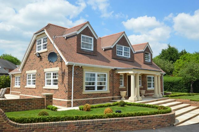 Thumbnail Detached house for sale in Church Road, Farley Hill