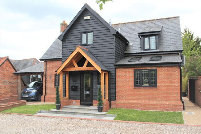 Thumbnail Detached house for sale in Oak Road, Rivenhall, Witham