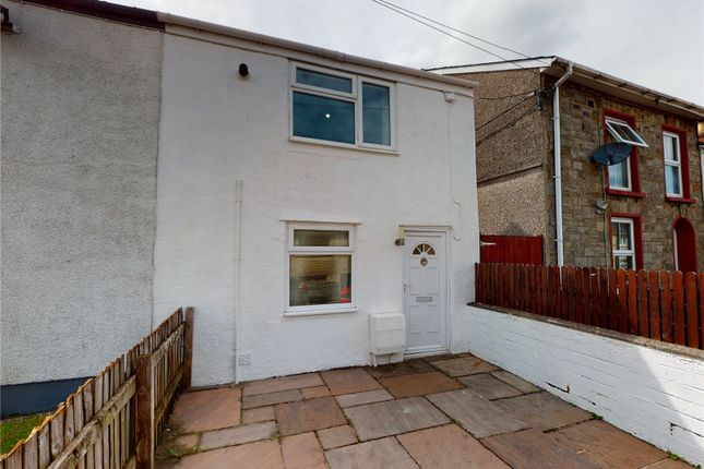 Thumbnail End terrace house for sale in Clydach Street, Brynmawr, Gwent
