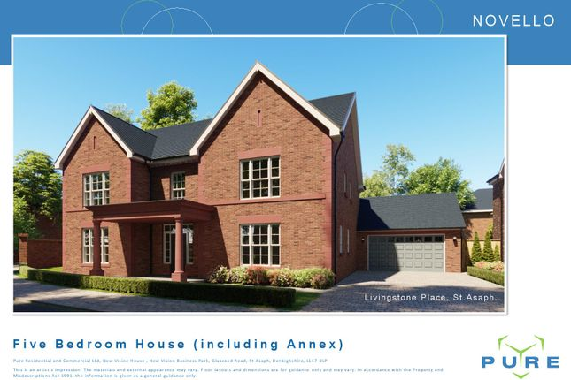 Thumbnail Detached house for sale in Livingstone Place, St. Asaph