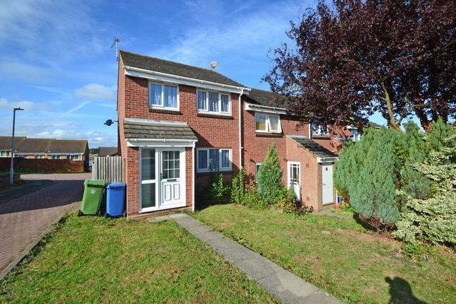 Thumbnail End terrace house to rent in Fallowfield, Sittingbourne