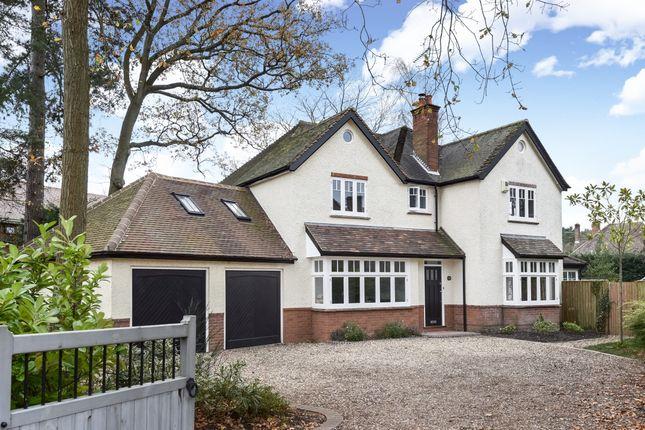 Thumbnail Detached house to rent in Wood Lane, Fleet