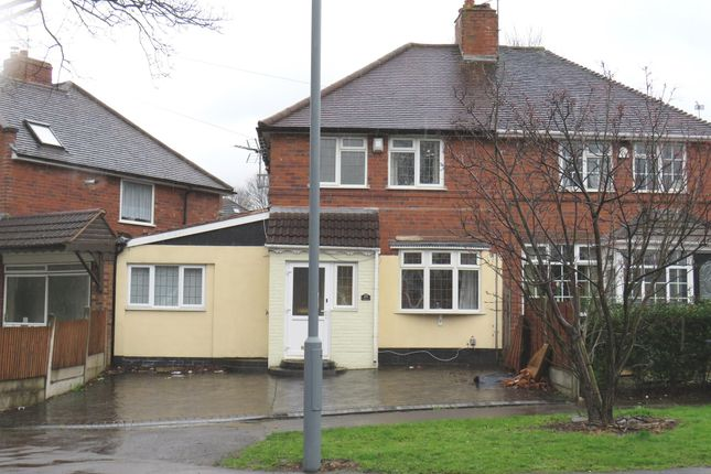 Thumbnail Semi-detached house for sale in Thornbridge Avenue, Great Barr, Birmingham