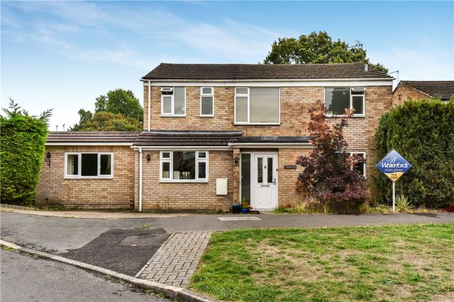 Thumbnail Detached house for sale in Stirling Close, Frimley, Camberley, Surrey