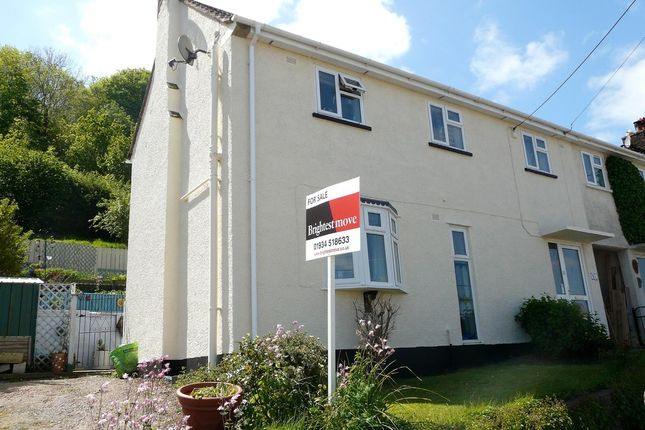 Thumbnail Semi-detached house for sale in High Street, Banwell, North Somerset
