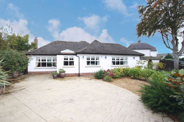 Thumbnail Detached bungalow for sale in Barnston Road, Heswall, Wirral
