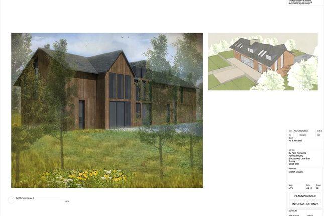 Thumbnail Land for sale in Blackstroud Lane East, Lightwater, Surrey