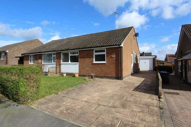 Thumbnail Semi-detached bungalow for sale in Pinewood Road, Matlock