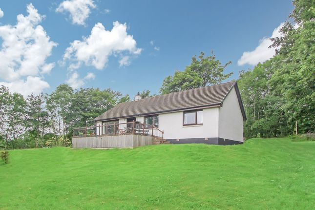 Thumbnail Detached bungalow for sale in Upper Scotstown, Strontian, Acharacle, Argyllshire