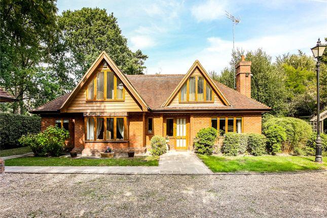 Thumbnail Detached house for sale in Heath Ride, Finchampstead, Wokingham, Berkshire