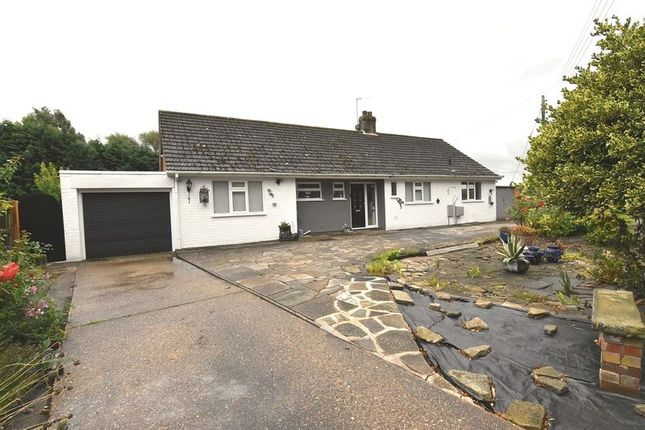Thumbnail Detached bungalow for sale in Station Road, Alford