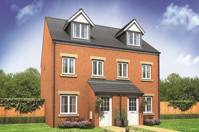 "Thumbnail Semi-detached house for sale in ""The Souter"" at Buttermilk Close, Pembroke"