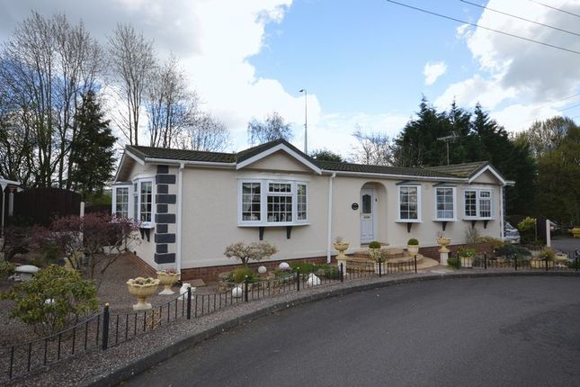 Thumbnail Detached bungalow for sale in Severn Gorge Park, Madeley, Telford, Shropshire.