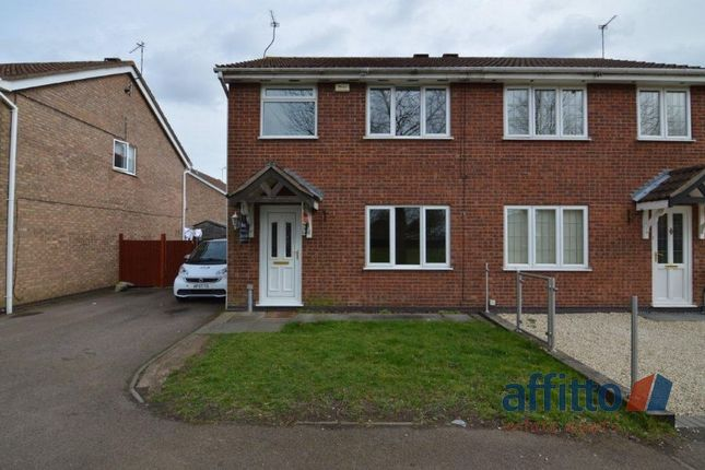 Thumbnail Semi-detached house to rent in Kenny Close, Whetstone, Leicester