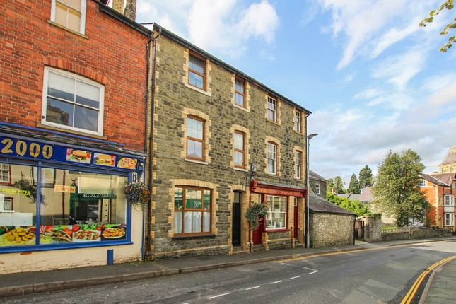 Thumbnail 1 bed flat to rent in 6 West Street, Builth Wells