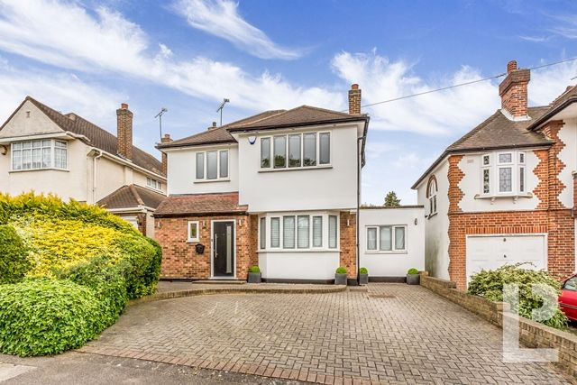 Thumbnail Detached house for sale in Fontayne Avenue, Chigwell, Essex