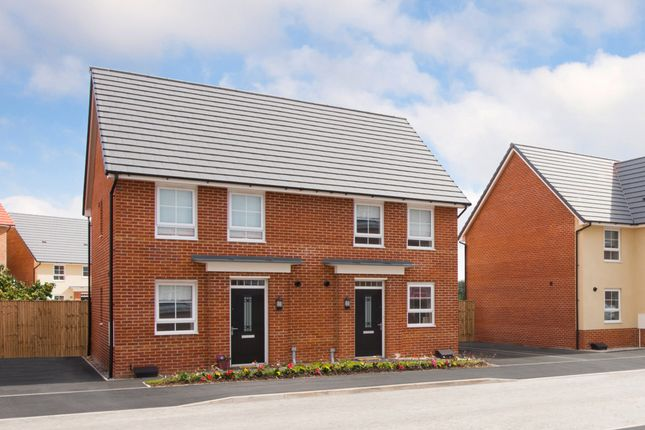 "Thumbnail Semi-detached house for sale in ""Bampton"" at Birch Road, Walkden, Manchester"