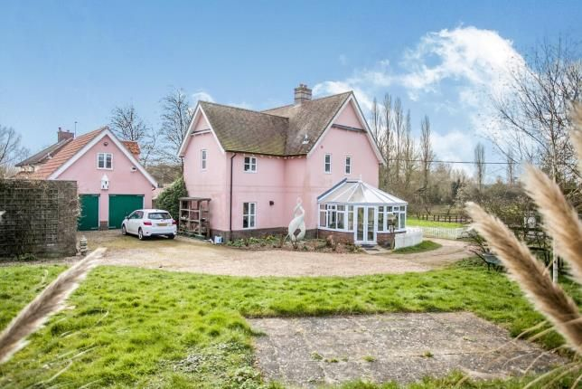 Thumbnail Detached house for sale in Chelsworth, Ipswich, Suffolk