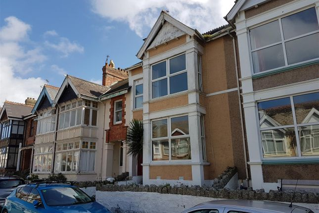 Thumbnail Town house for sale in Trebarwith Crescent, Newquay