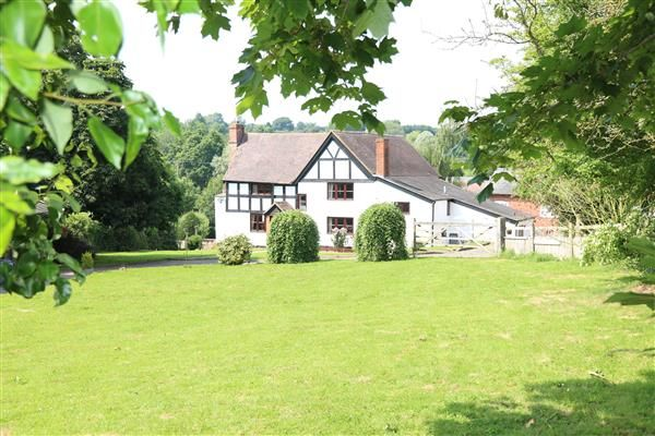 Thumbnail Detached house for sale in Much Marcle, Gamage House Farm, Lyne Down, Much Marcle, Ross-On-Wye
