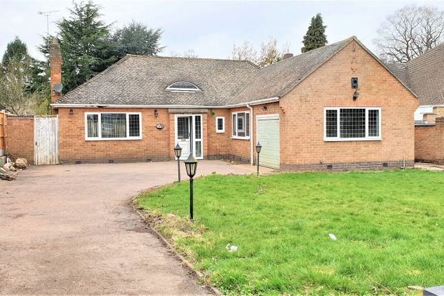 Thumbnail Bungalow to rent in The Broadway, Oadby, Leicester