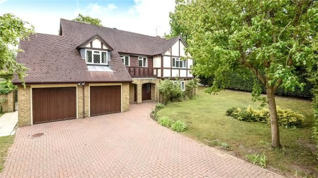 Thumbnail Detached house for sale in Blackwater, Camberley
