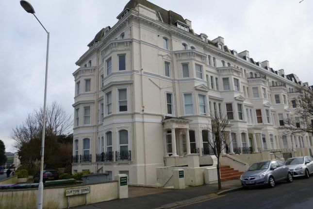 Thumbnail Flat to rent in Clifton Gardens, Folkestone