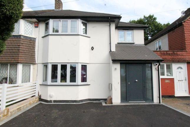 Thumbnail Semi-detached house for sale in Arlington Drive, Carshalton