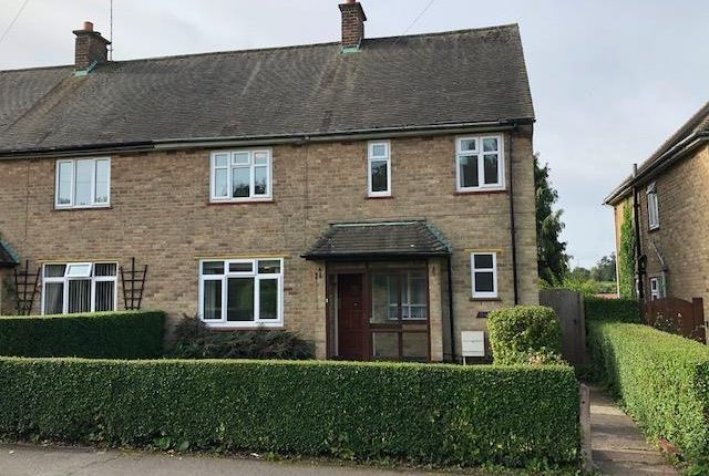 Thumbnail Semi-detached house for sale in Grey Crescent, Newtown Linford, Leicester