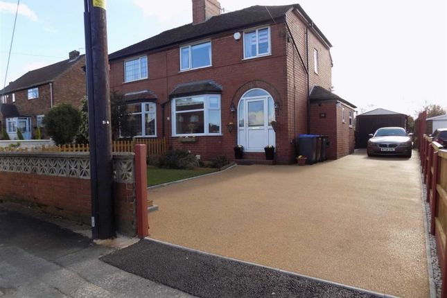 Thumbnail Semi-detached house for sale in Fairfield Avenue, Brown Edge, Staffordshire