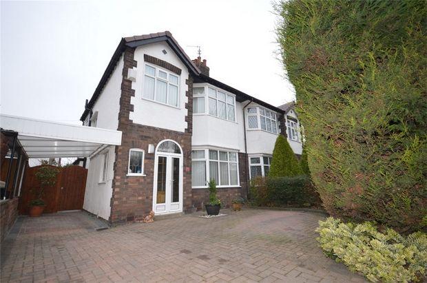 3 bed semi-detached house for sale in Brimstage Road, Bebington, Merseyside
