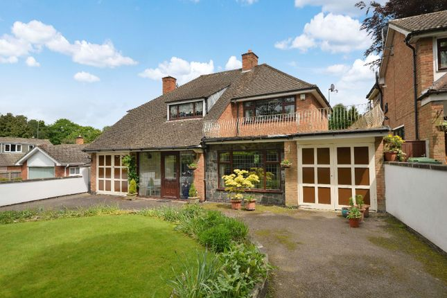 Thumbnail Detached house for sale in The Oval, Oadby, Leicester