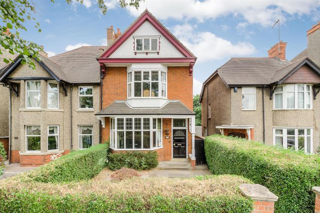 Thumbnail Semi-detached house for sale in Queens Park Parade, Northampton
